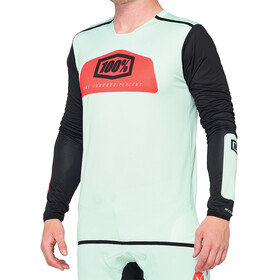 100% R-Core X DH Jersey Heren, foam/black